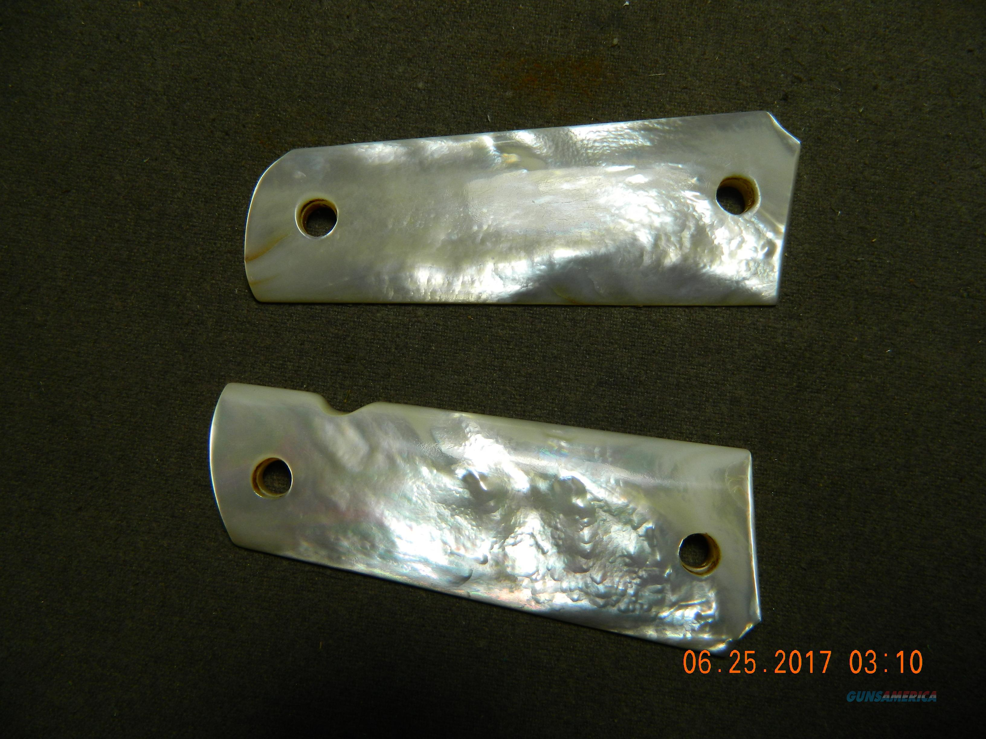 genuine mother of pearl grips for colt 1911  Guns > Pistols > Colt Automatic Pistols (1911 & Var)