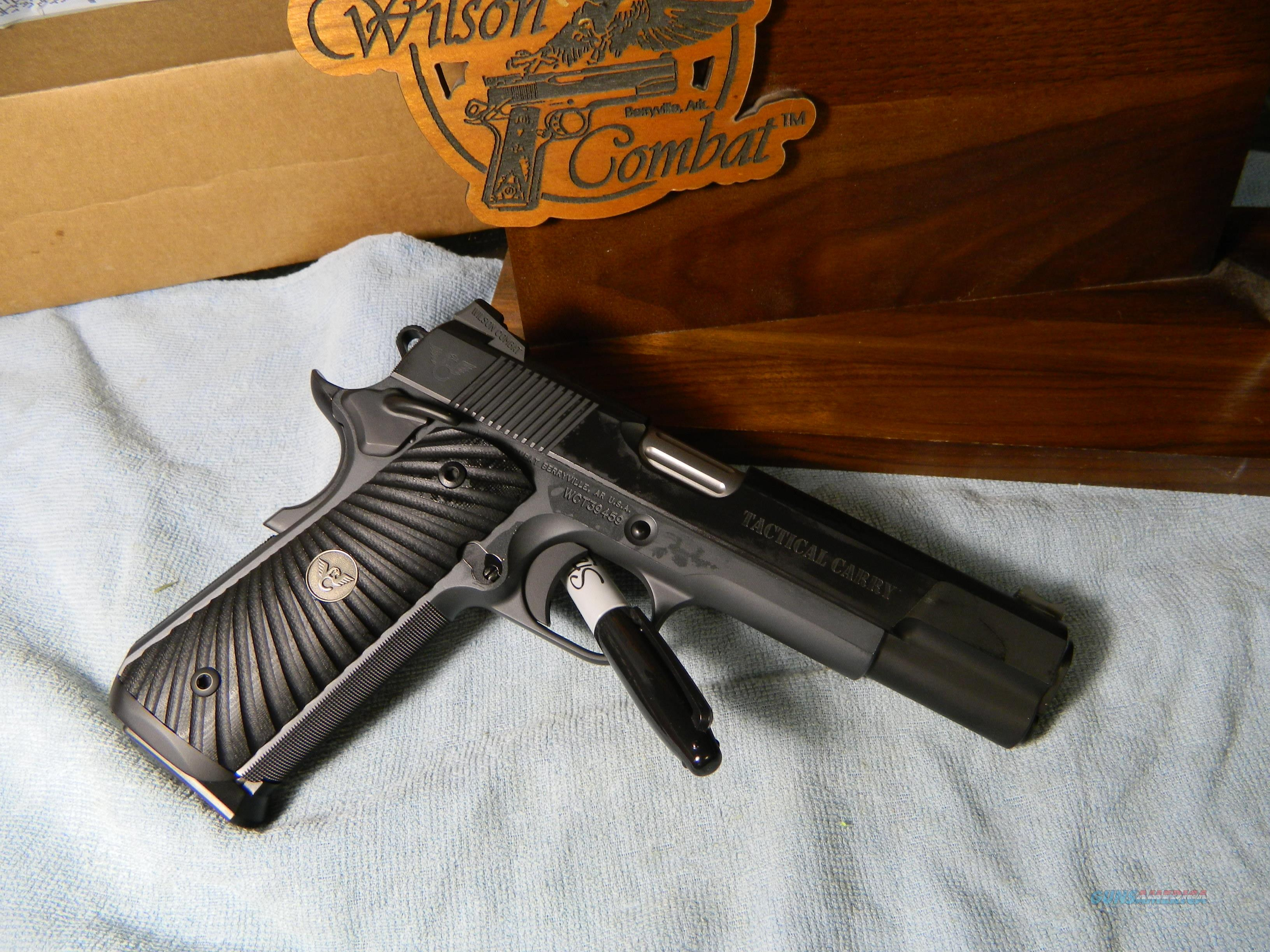 WILSON TACTICAL CARRY 45 ACP  Guns > Pistols > Wilson Combat Pistols