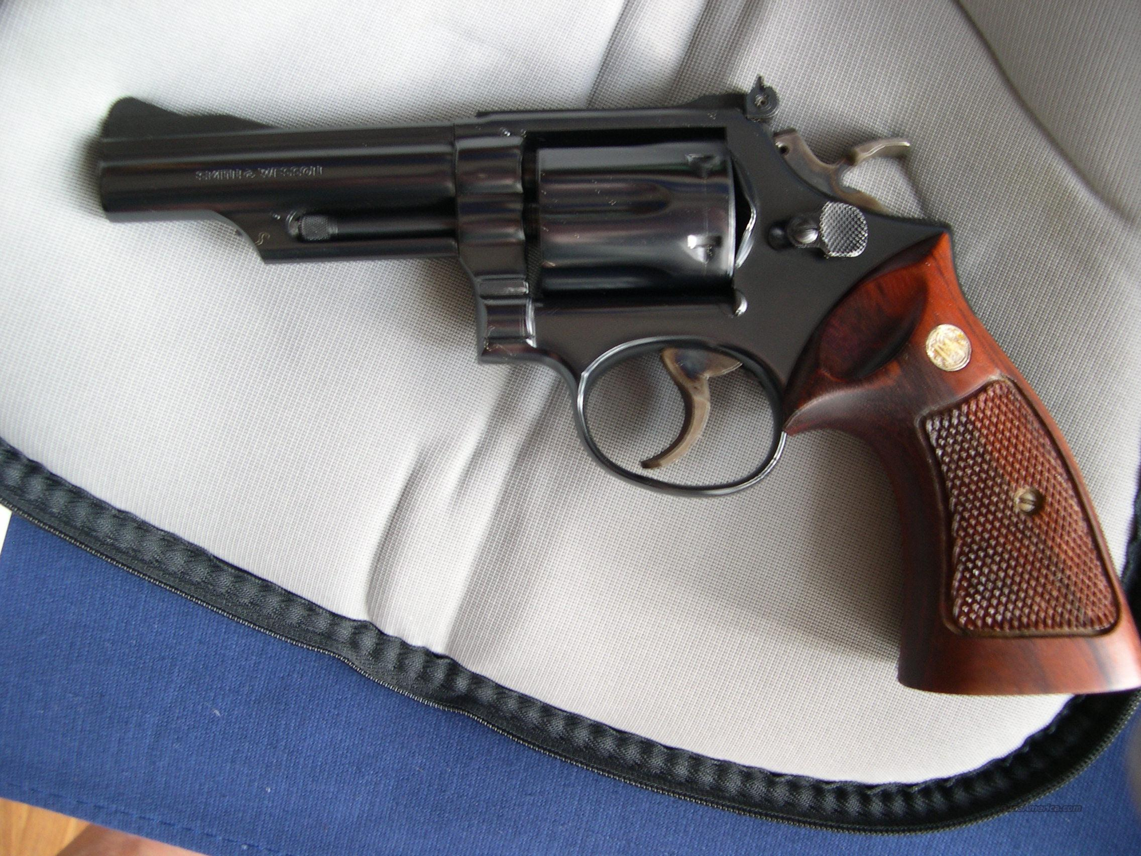 "SMITH WESSON 19-3   4""  BLUE  Guns > Pistols > Smith & Wesson Revolvers > Full Frame Revolver"