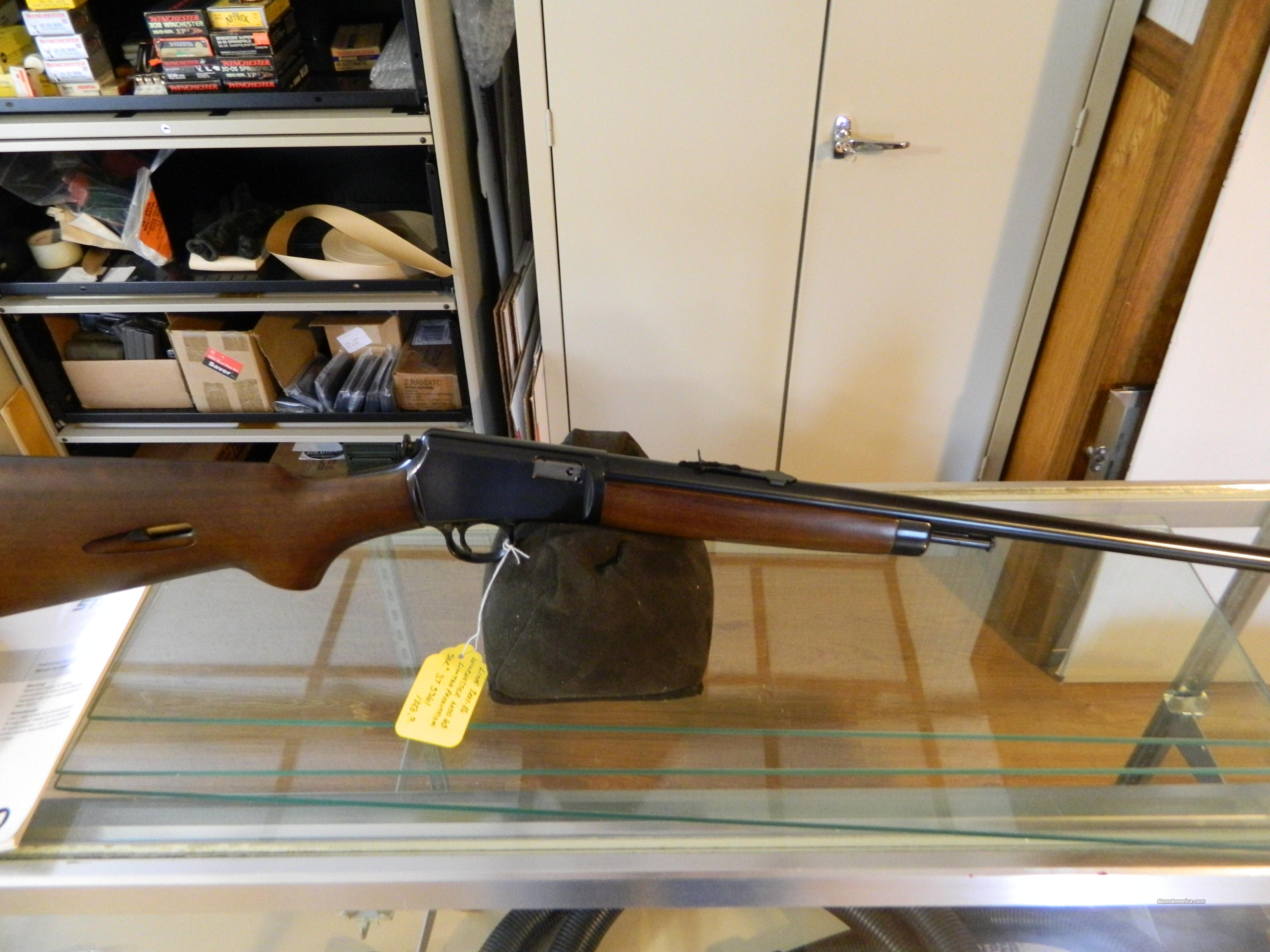 winchester 63  [JAPAN]  22LR  Guns > Rifles > Winchester Rifles - Modern Bolt/Auto/Single > Autoloaders