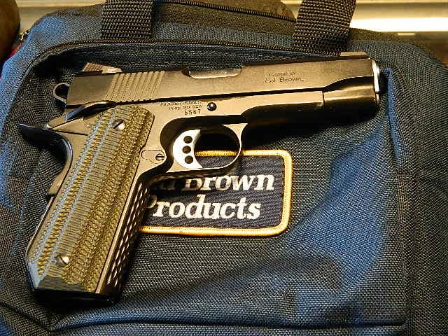 ED BROWN SPECIAL FORCES CARRY   Guns > Pistols > Ed Brown Pistols