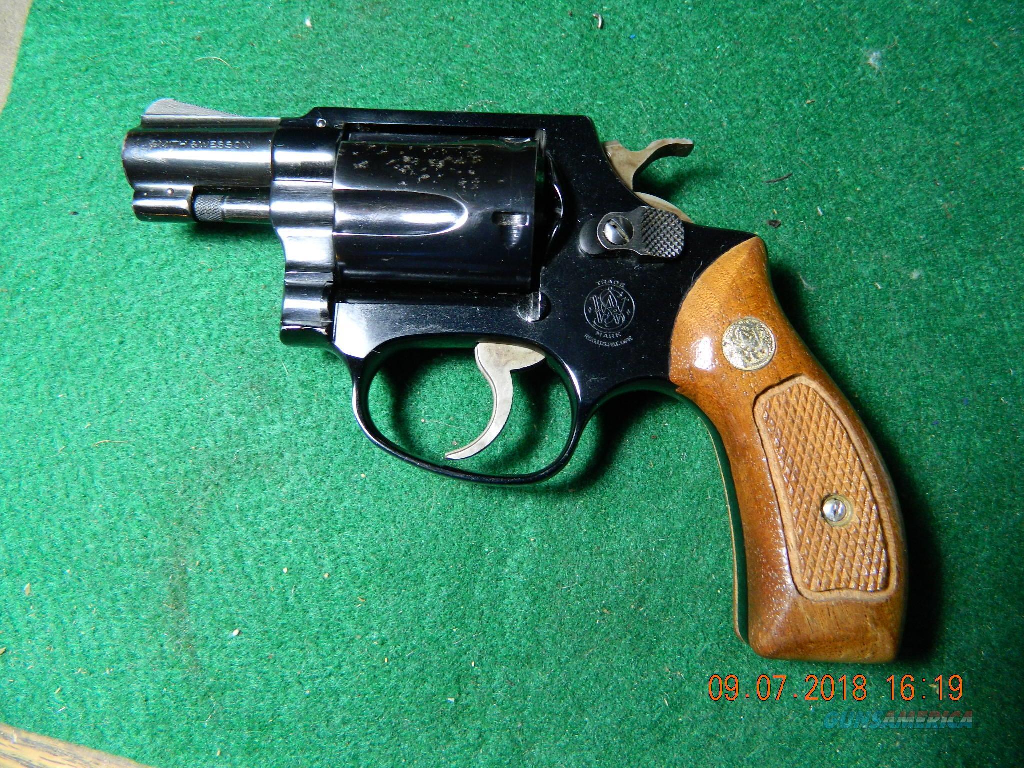 Smith Wesson old model 37 pinned  Guns > Pistols > Smith & Wesson Revolvers > Small Frame ( J )