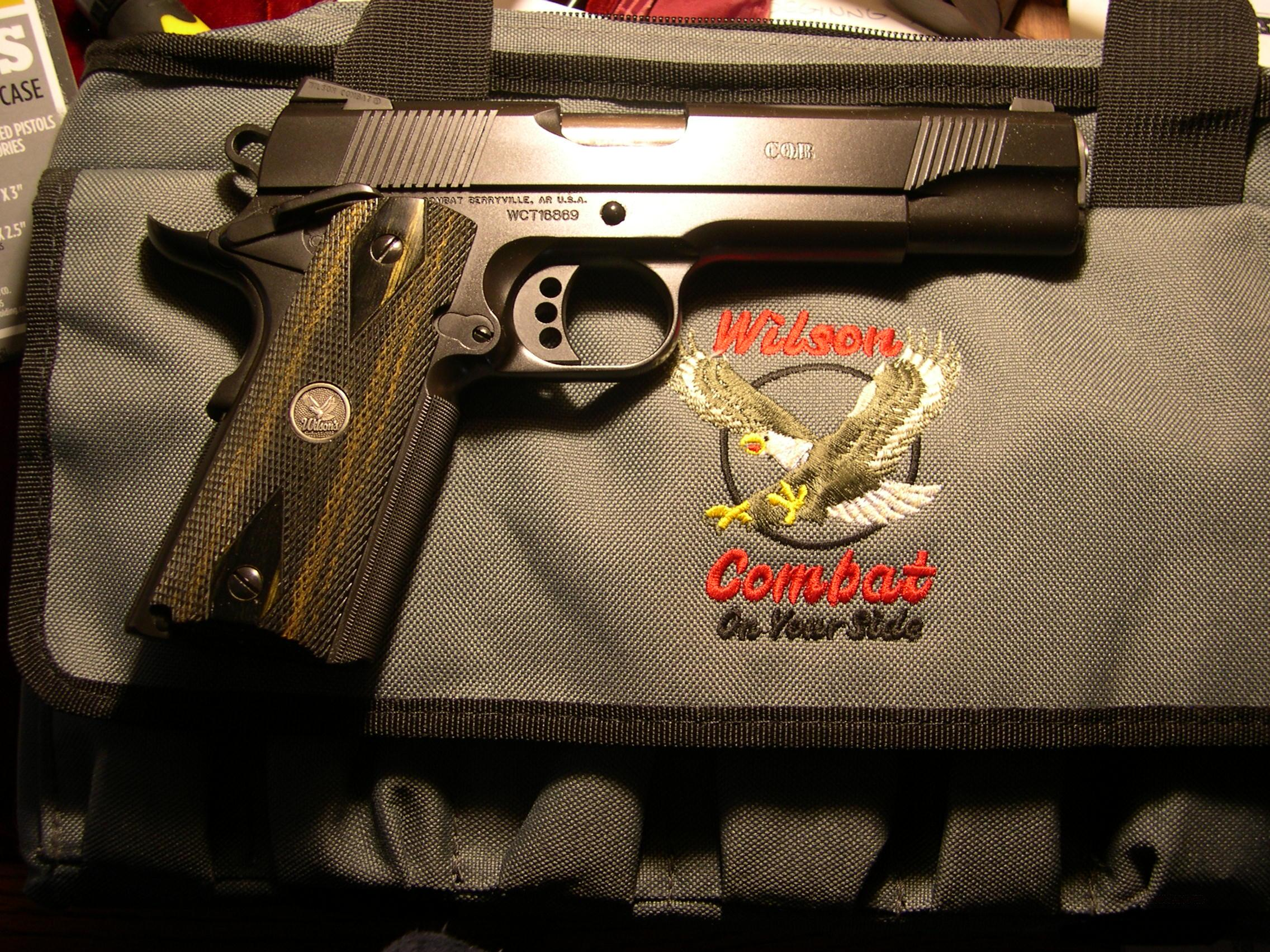 Wilson CQB  45 acp    as new!  Guns > Pistols > Wilson Combat Pistols