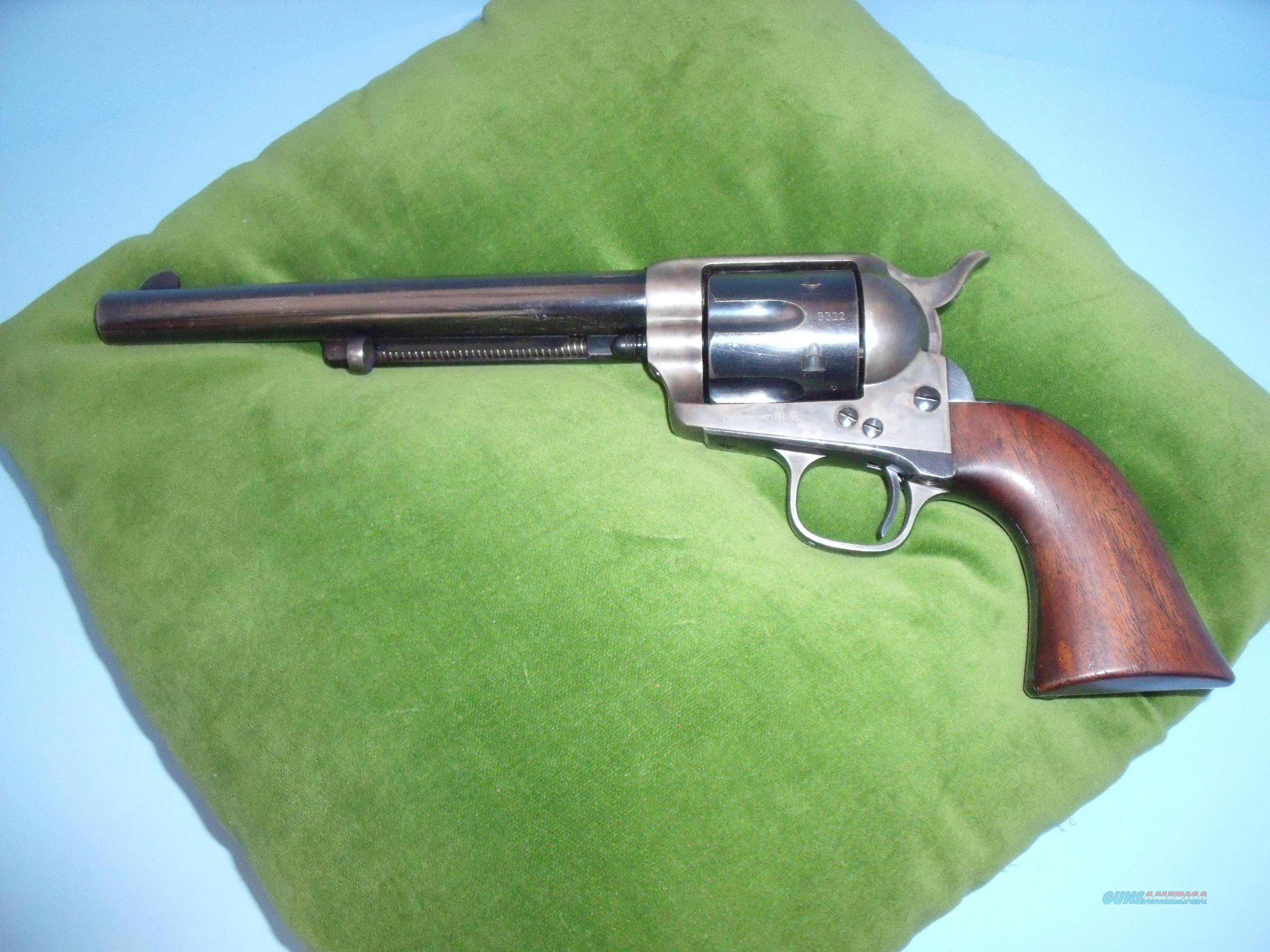 BLACK POWDER FRAME COLT SAA  Guns > Pistols > Colt Single Action Revolvers - 1st Gen.
