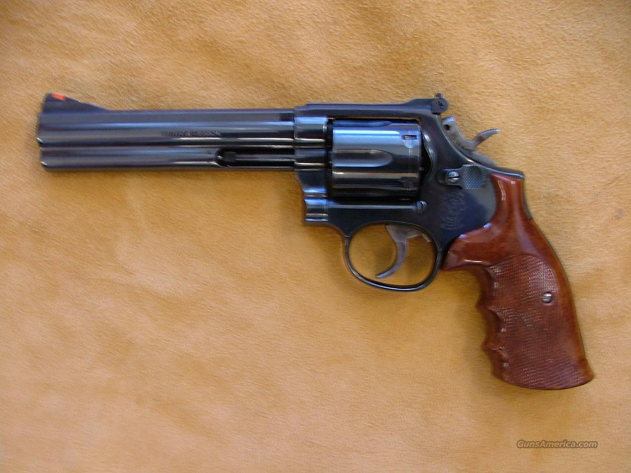 smith wesson 586 357 mag   Guns > Pistols > Smith & Wesson Revolvers > Full Frame Revolver