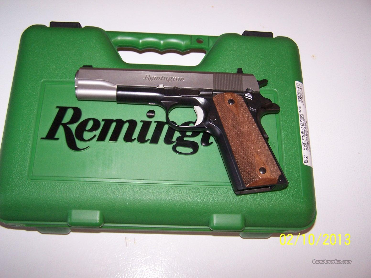 Remington 1911 R1S Two Tone  Guns > Pistols > Remington Pistols - Modern