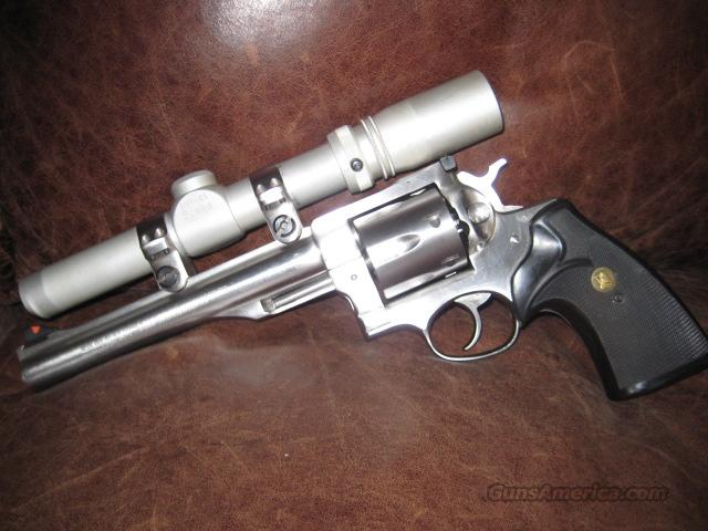 Ruger Redhawk stainless 44 mag with Burris scope  Guns > Pistols > Ruger Double Action Revolver > Redhawk Type