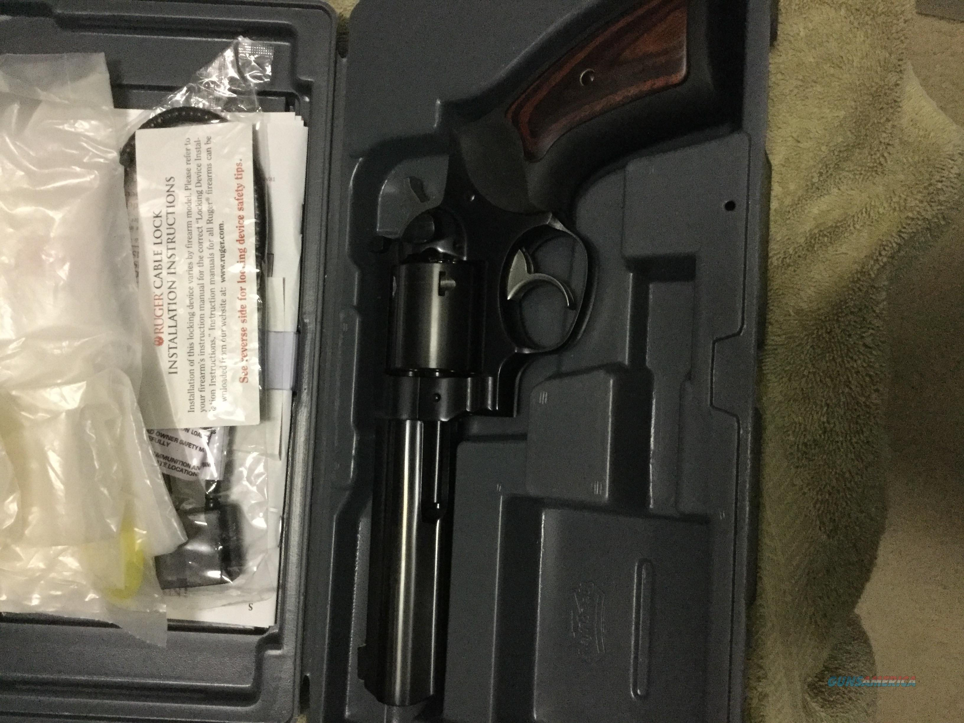 GP100 44 Special Lipsey Exclusive 5.5 full lug barrel blued NIB  Guns > Pistols > Ruger Double Action Revolver > GP100