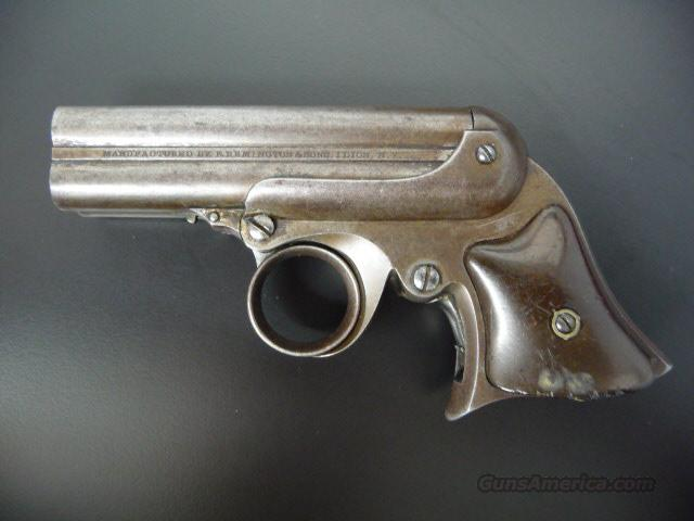 Remington-Elliott Derringer .32  Guns > Pistols > Remington Derringers