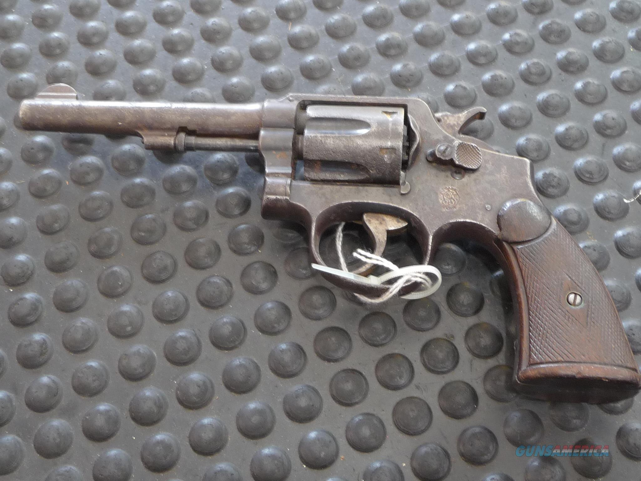 Smith & Wesson .38 Special Vintage Revolver  Guns > Pistols > Smith & Wesson Revolvers > Pre-1945