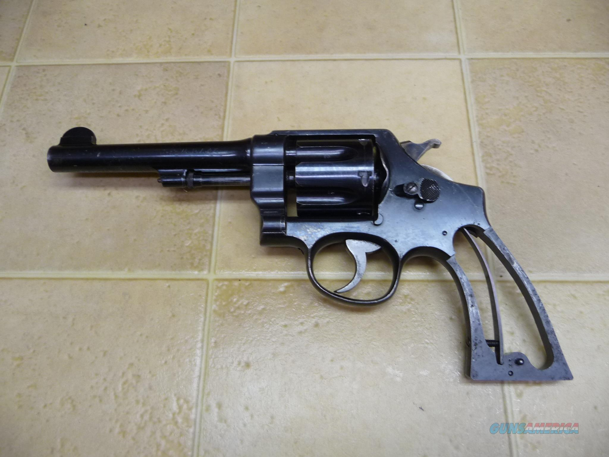 Smith & Wesson U.S. Army Model 1917 .45 acp  Guns > Pistols > Smith & Wesson Revolvers > Pre-1945