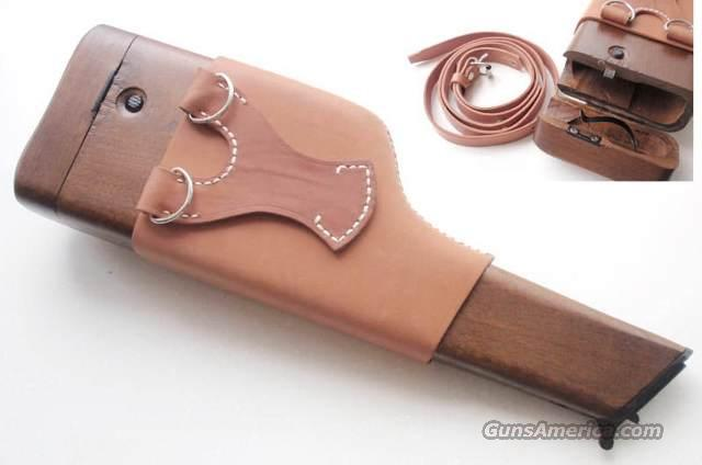 German Wooden Stock Holster Mauser C96 BroomHandle  Non-Guns > Holsters and Gunleather