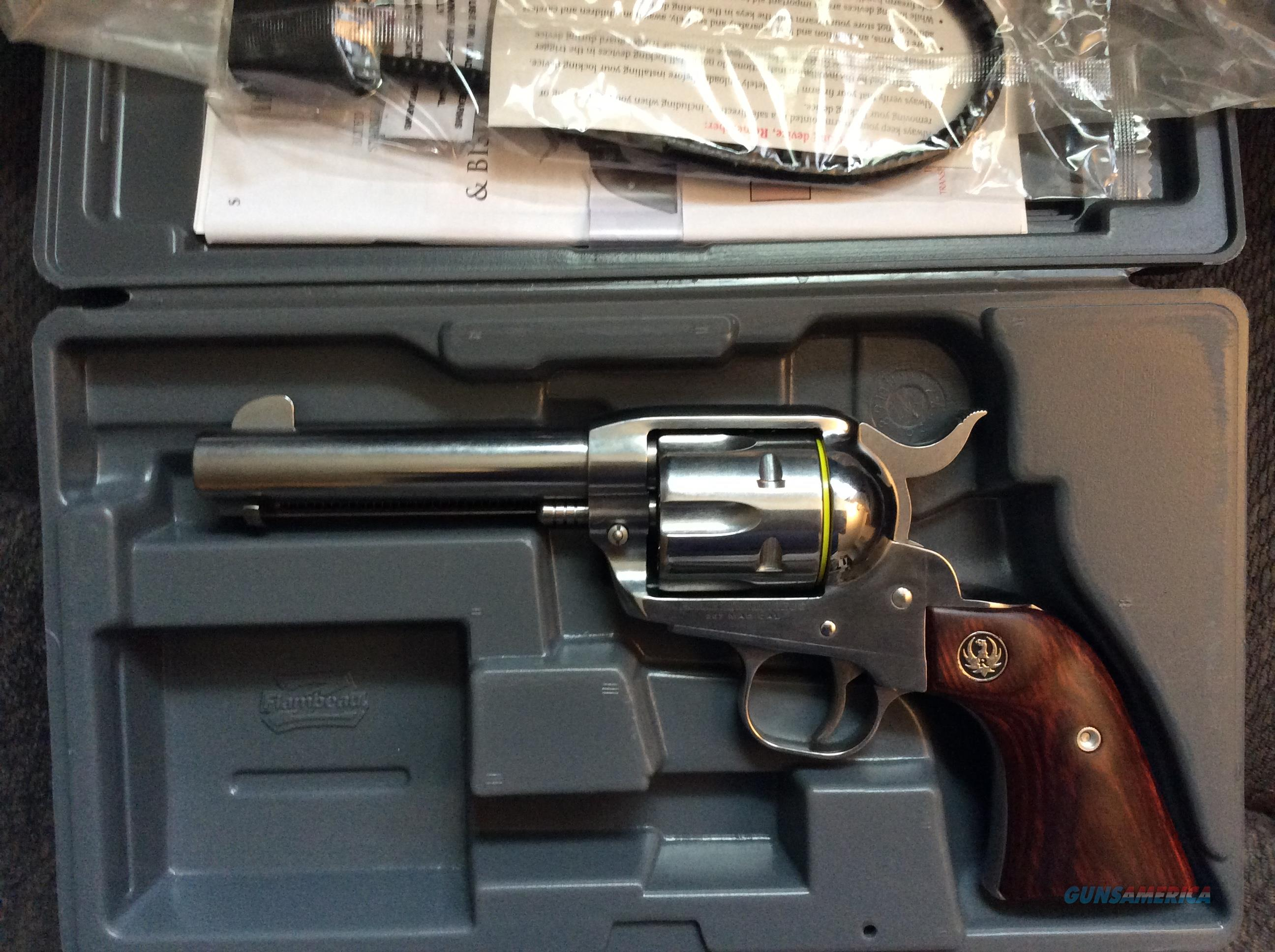 Ruger New Vaquero in 357 magnum 4.62 inch barrle  Guns > Pistols > Ruger Single Action Revolvers > Cowboy Action