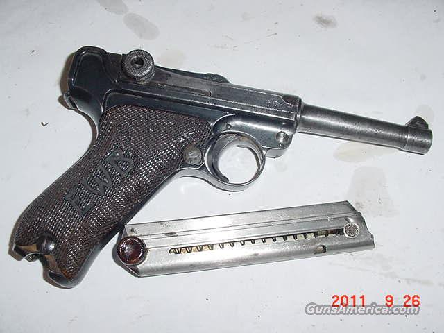 1912 Erfurt Luger all Matching RARE ORIGINAL  Guns > Pistols > Military Misc. Pistols Non-US