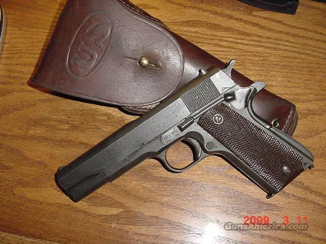Remington Rand 1943 and Holster  Guns > Pistols > Military Misc. Pistols US > 1911 Pattern