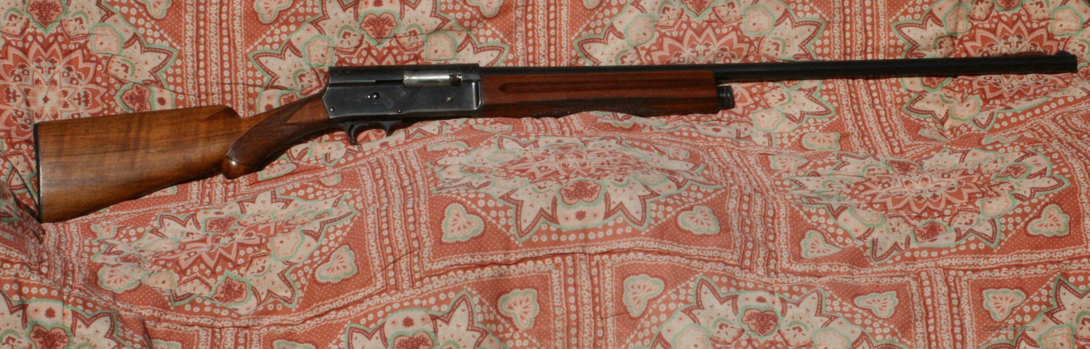 Browning Vintage Auto  Guns > Shotguns > Browning Shotguns > Autoloaders > Hunting