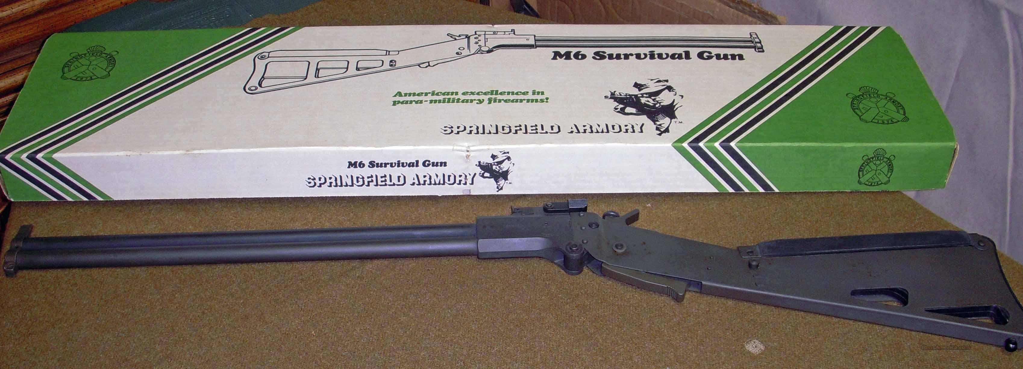 Springfield Armory M-6 Survival Rifle/Shotgun  Guns > Rifles > Springfield Armory Rifles > M1A/M14