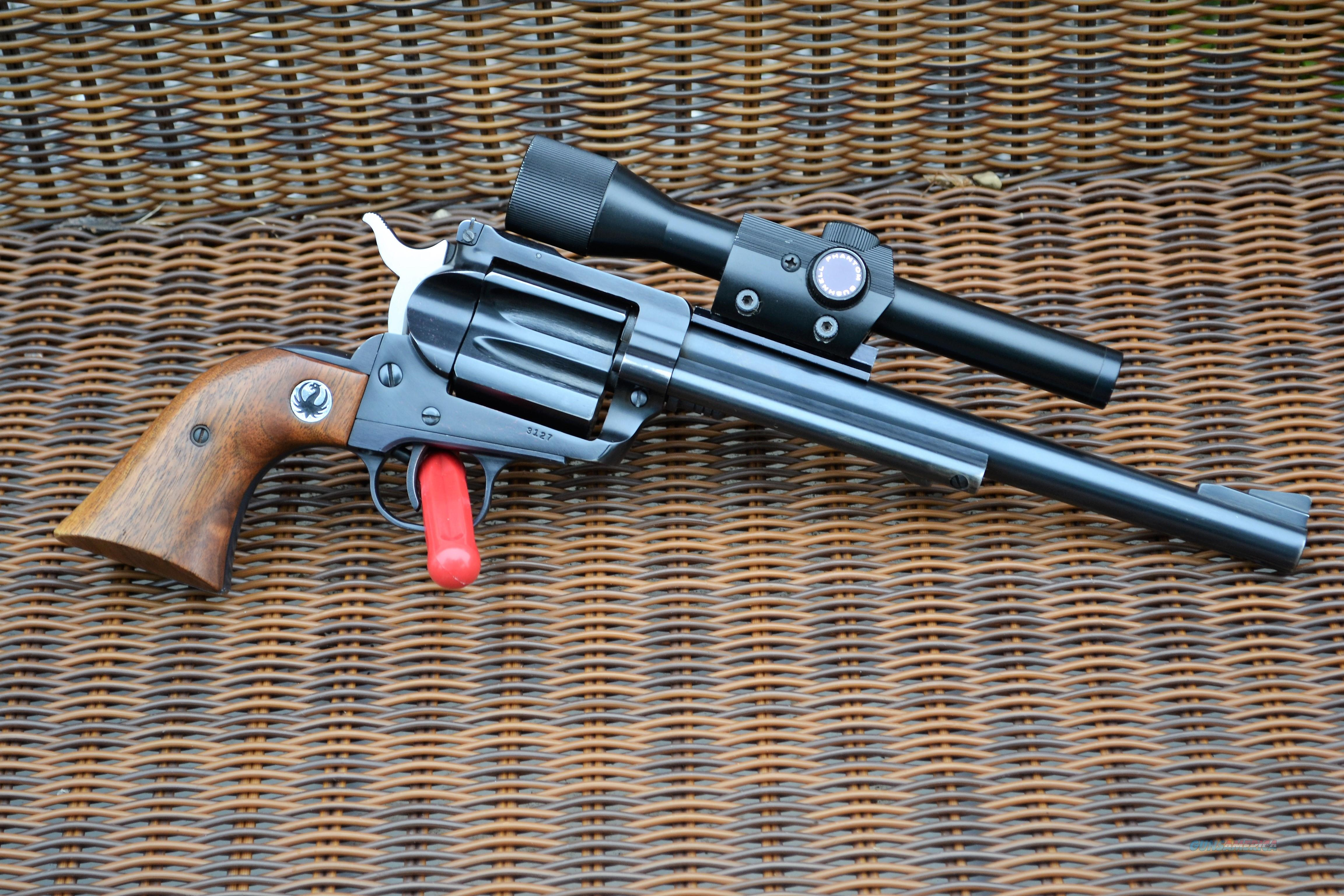 Rare Ruger Hawkeye .256 Win Mag Single Shot w/Bushnell Phantom 1.3X Scope  Guns > Pistols > Ruger Single Action Revolvers > Blackhawk Type