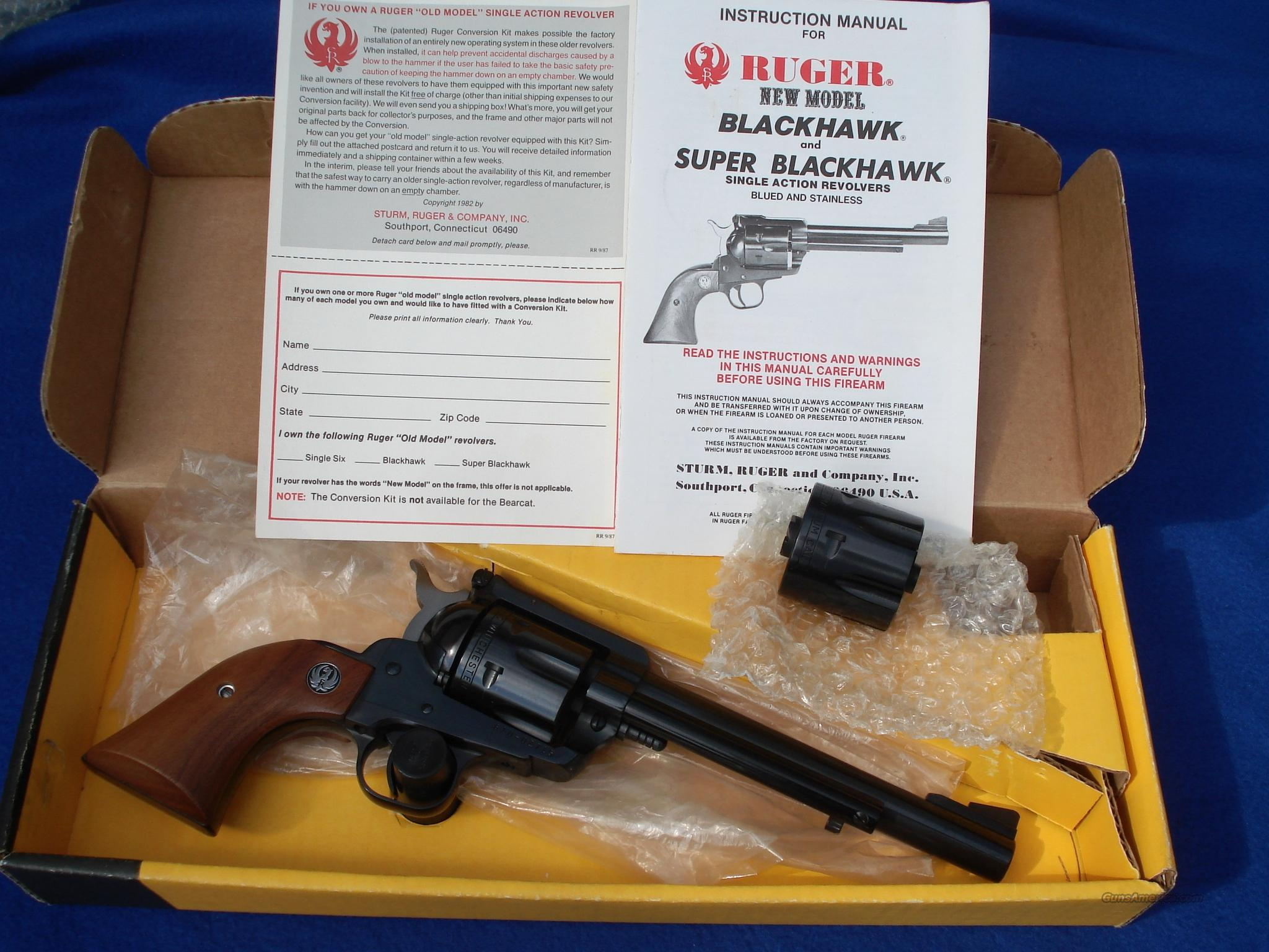 Ruger Blackhawk Buckeye Special 32 32-20 .32 H&R New-in-Box  Guns > Pistols > Ruger Single Action Revolvers > Blackhawk Type