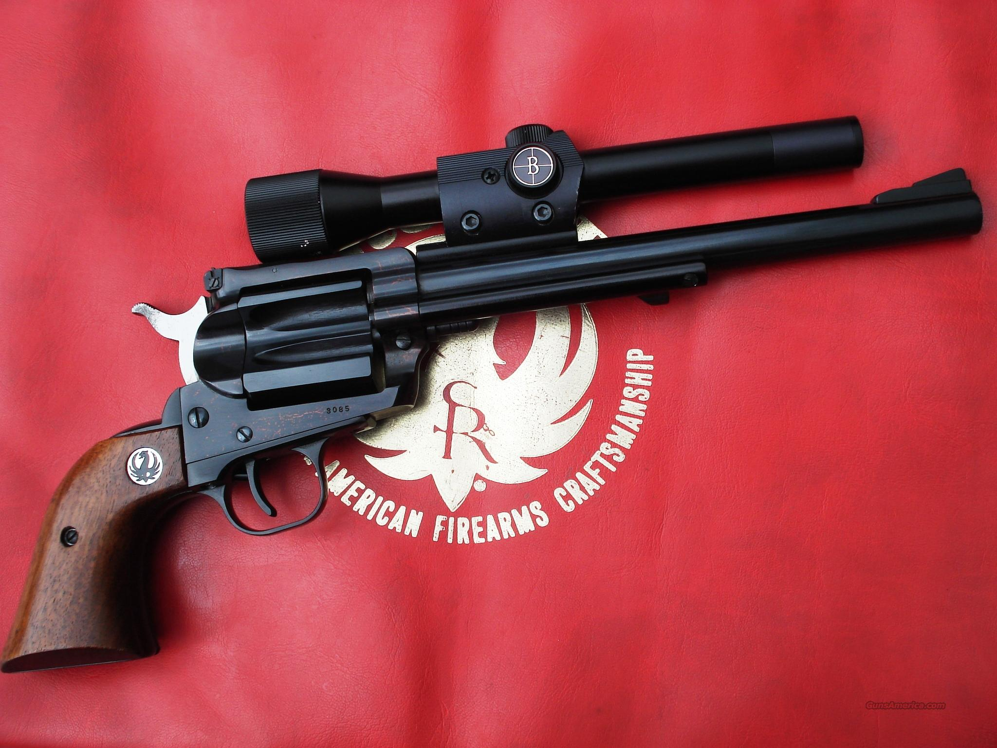 Rare Ruger Hawkeye .256 Win Mag Single Shot  Guns > Pistols > Ruger Single Action Revolvers > Blackhawk Type