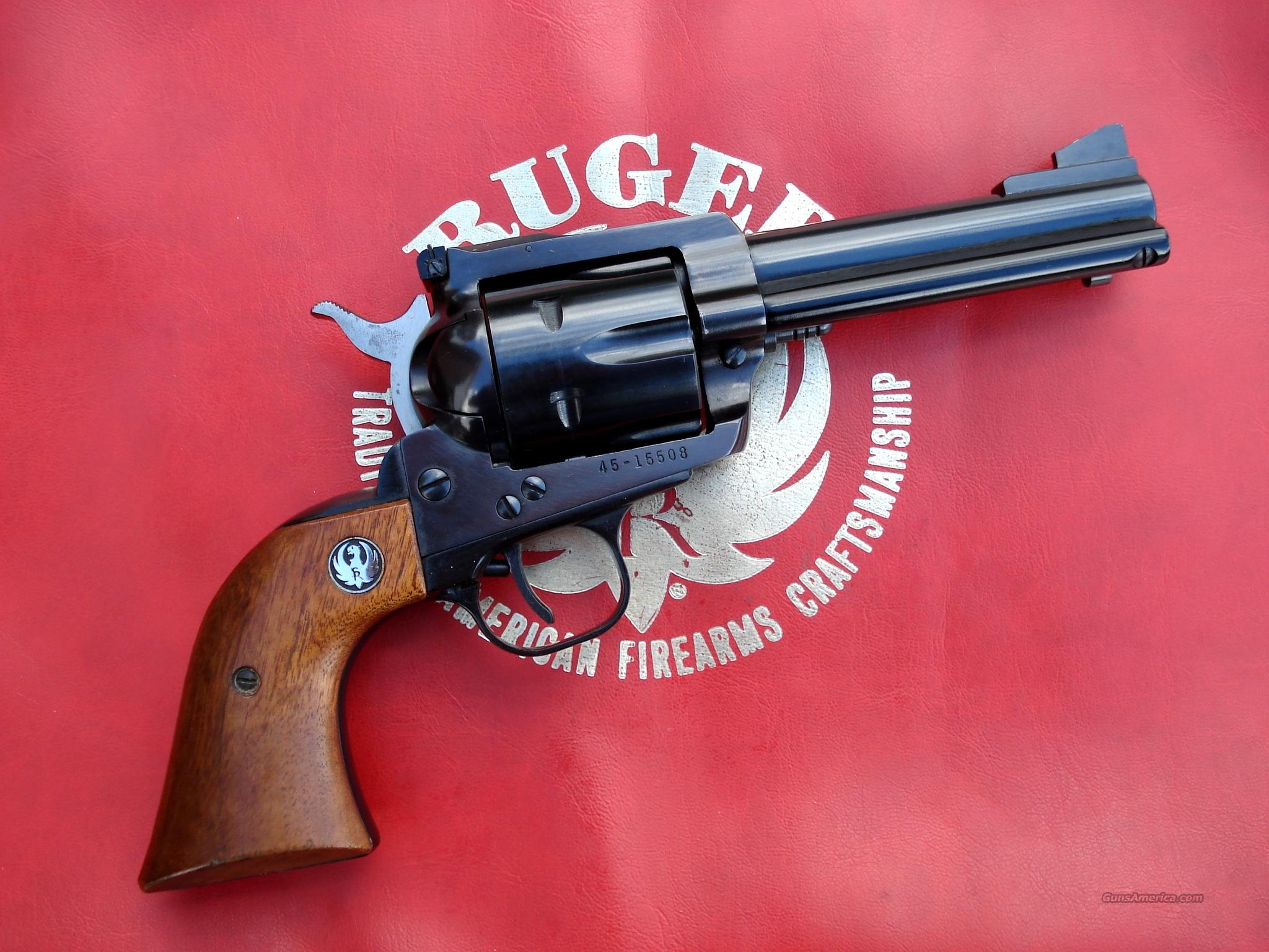 Ruger Blackhawk .45 Old Model 3 Screw 4 5/8 Barrel  Guns > Pistols > Ruger Single Action Revolvers > Blackhawk Type