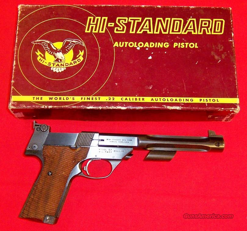 High Standard Supermatic Citation Model 107 Military  Guns > Pistols > High Standard Pistols