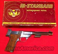 High Standard Supermatic Citation Model 107 Military  High Standard Pistols
