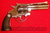 Colt Diamondback  Colt Double Action Revolvers- Modern