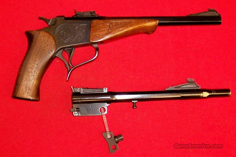 Thompson Center Contender W/ 2 Barrels  Guns > Pistols > Thompson Center Pistols > Contender