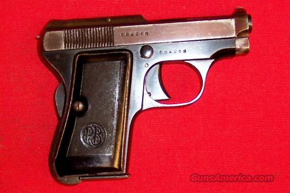 Beretta Model 418  Guns > Pistols > Beretta Pistols > Rare & Collectible