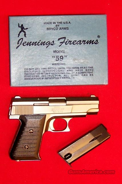 Jennings Model Bryco 59  Guns > Pistols > Jennings Pistols