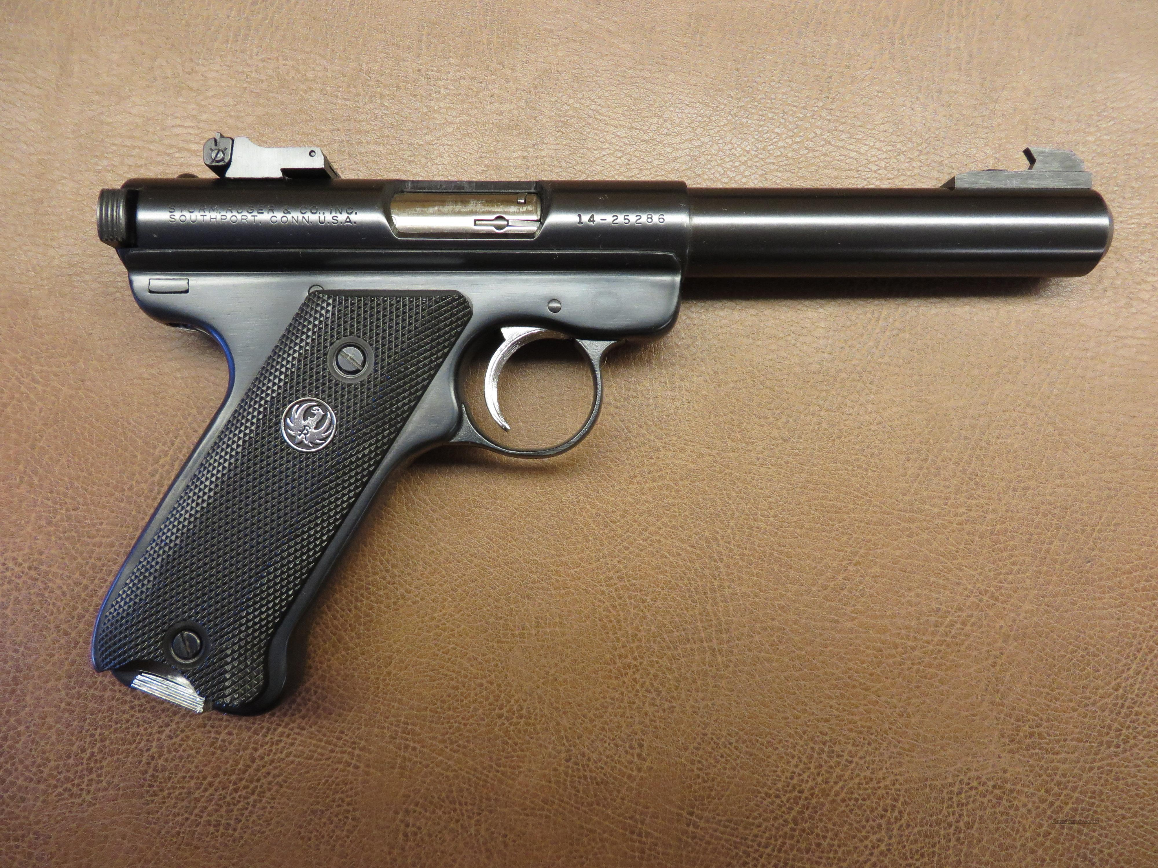 Ruger .22 Mark 1 Target  Automatic T512  Guns > Pistols > Ruger Semi-Auto Pistols > Mark I/II/III Family