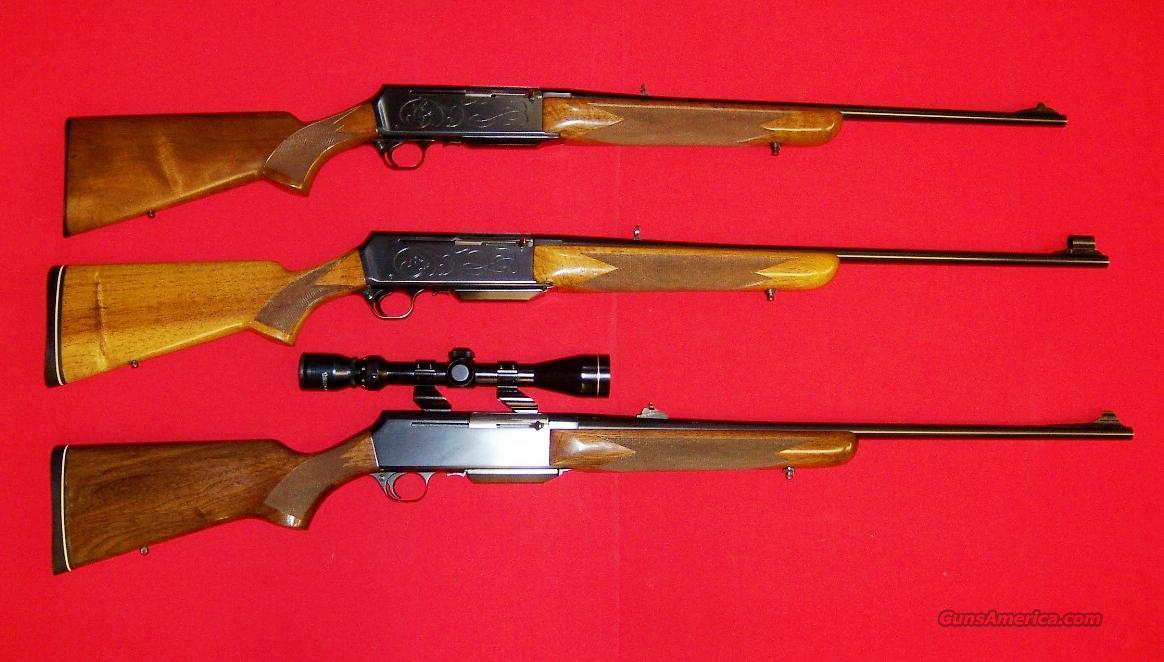 BROWNING  BAR  Guns > Rifles > Browning Rifles