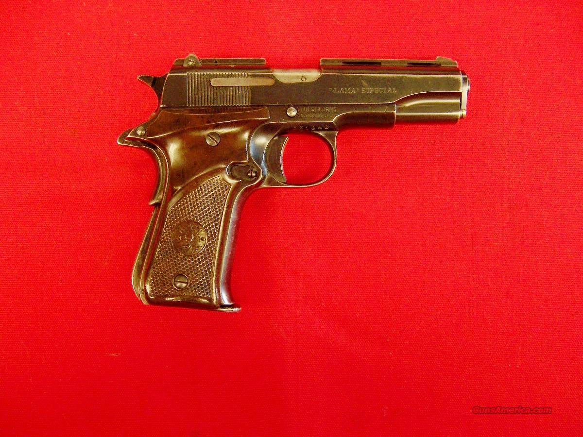 LLAMA  ESPECIAL  Guns > Pistols > Llama Pistols