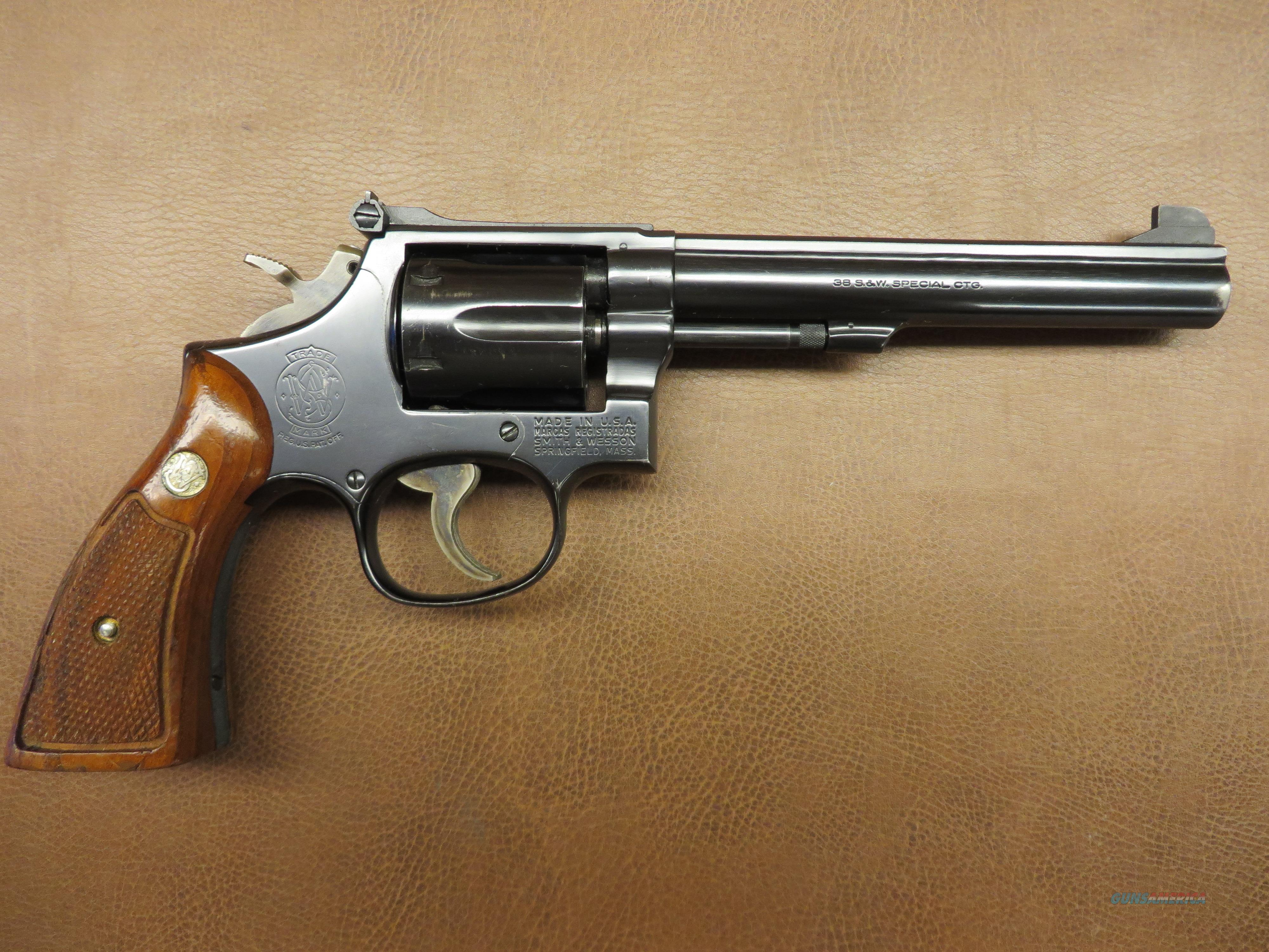 S&W Model 14-3  Guns > Pistols > Smith & Wesson Revolvers > Full Frame Revolver