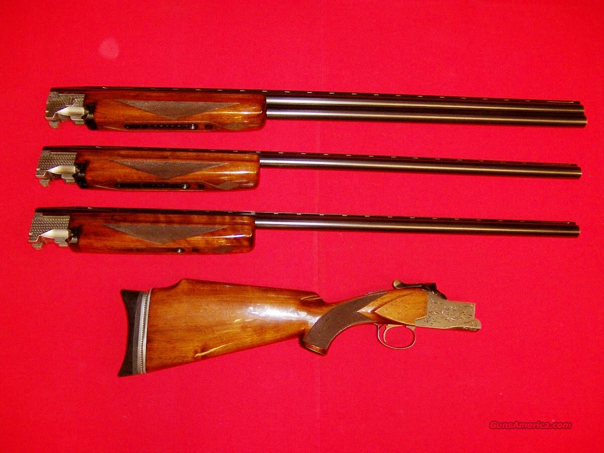 Winchester Model 101 3 Barrel Trap Set  Guns > Shotguns > Winchester Shotguns - Modern > O/U > Trap/Skeet