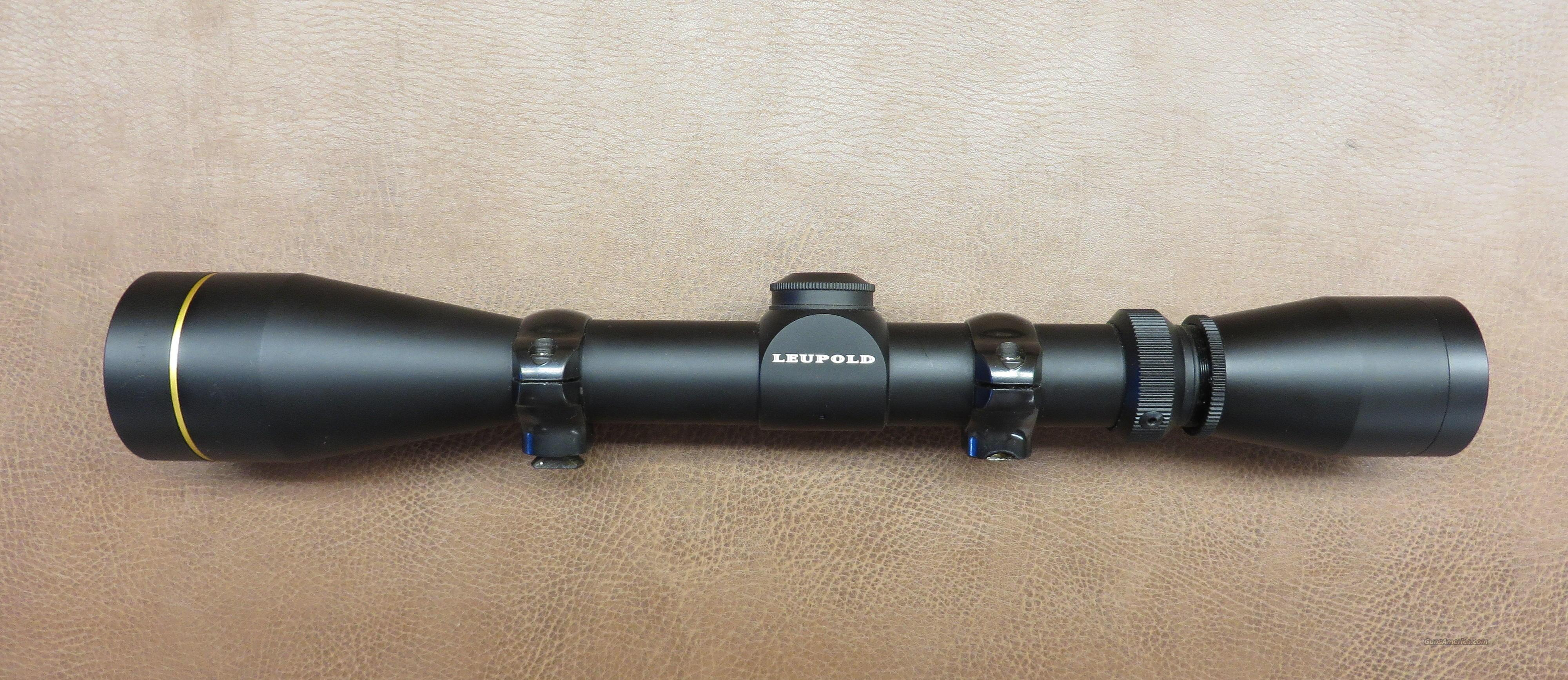 Leupold VX-II 3-9x40MM  Non-Guns > Scopes/Mounts/Rings & Optics > Rifle Scopes > Variable Focal Length
