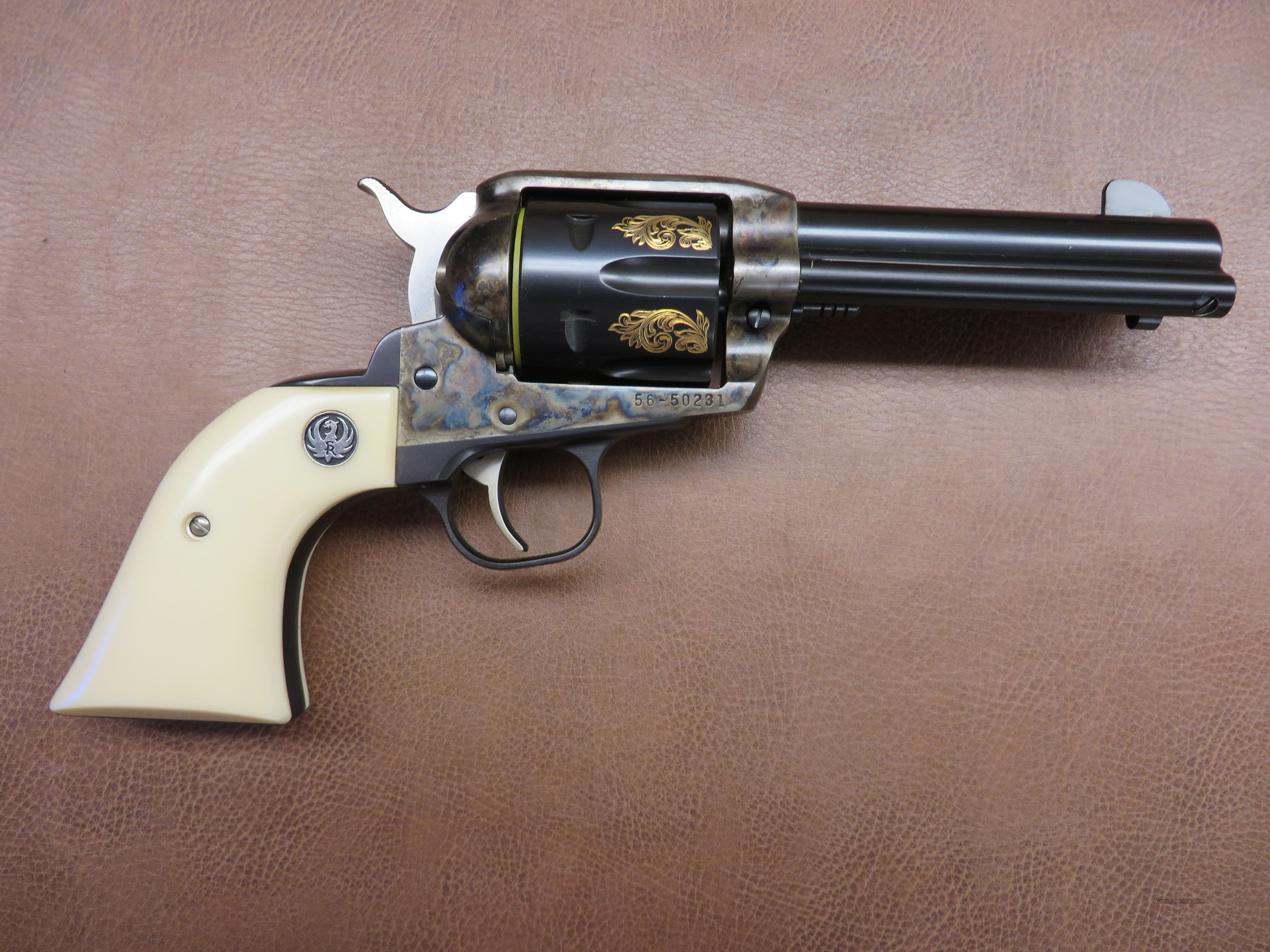 Ruger Old Model Vaquero Engraved  Guns > Pistols > Ruger Single Action Revolvers > Cowboy Action