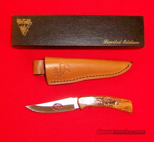 Buck Custom Model 475 Elk Profile Limited Edition  Non-Guns > Knives/Swords > Knives > Fixed Blade > Hand Made