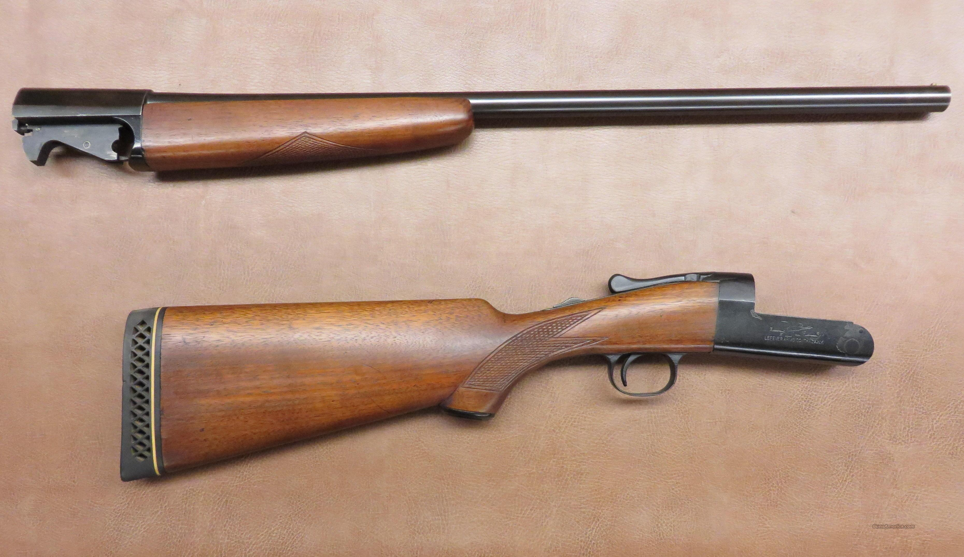 Lefever Long Range Field & Trap Gun  Guns > Shotguns > Lefever Shotguns