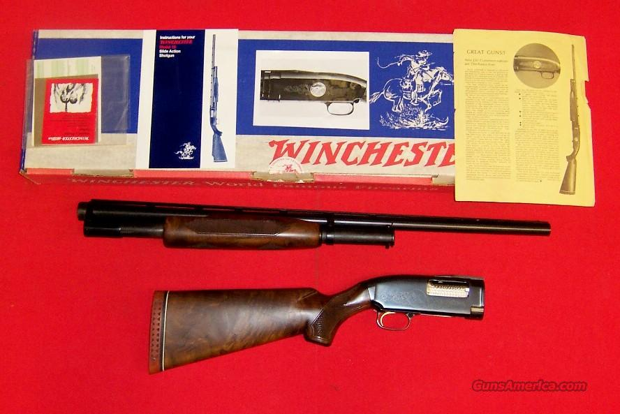 Winchester Model 12 Ducks Unlimited  Guns > Shotguns > Winchester Shotgun Commemoratives