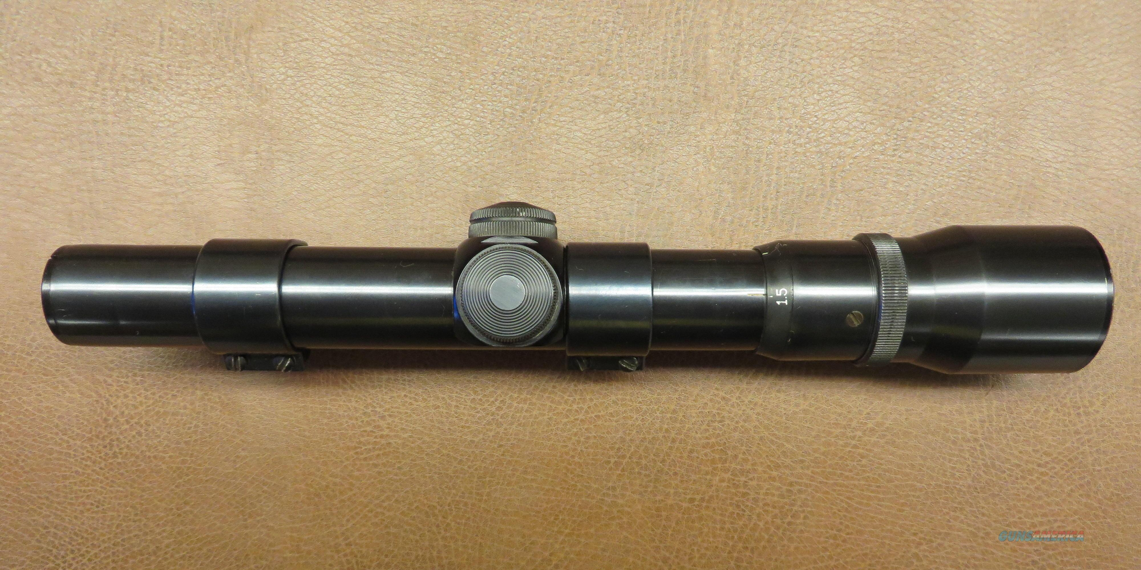 Weaver V1.5-4.5  Non-Guns > Scopes/Mounts/Rings & Optics > Rifle Scopes > Variable Focal Length