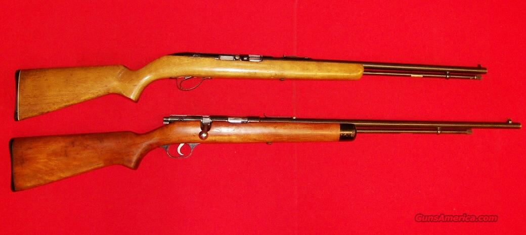 Stevens Model 86C and Springfield Model 188H  Guns > Rifles > Stevens Rifles