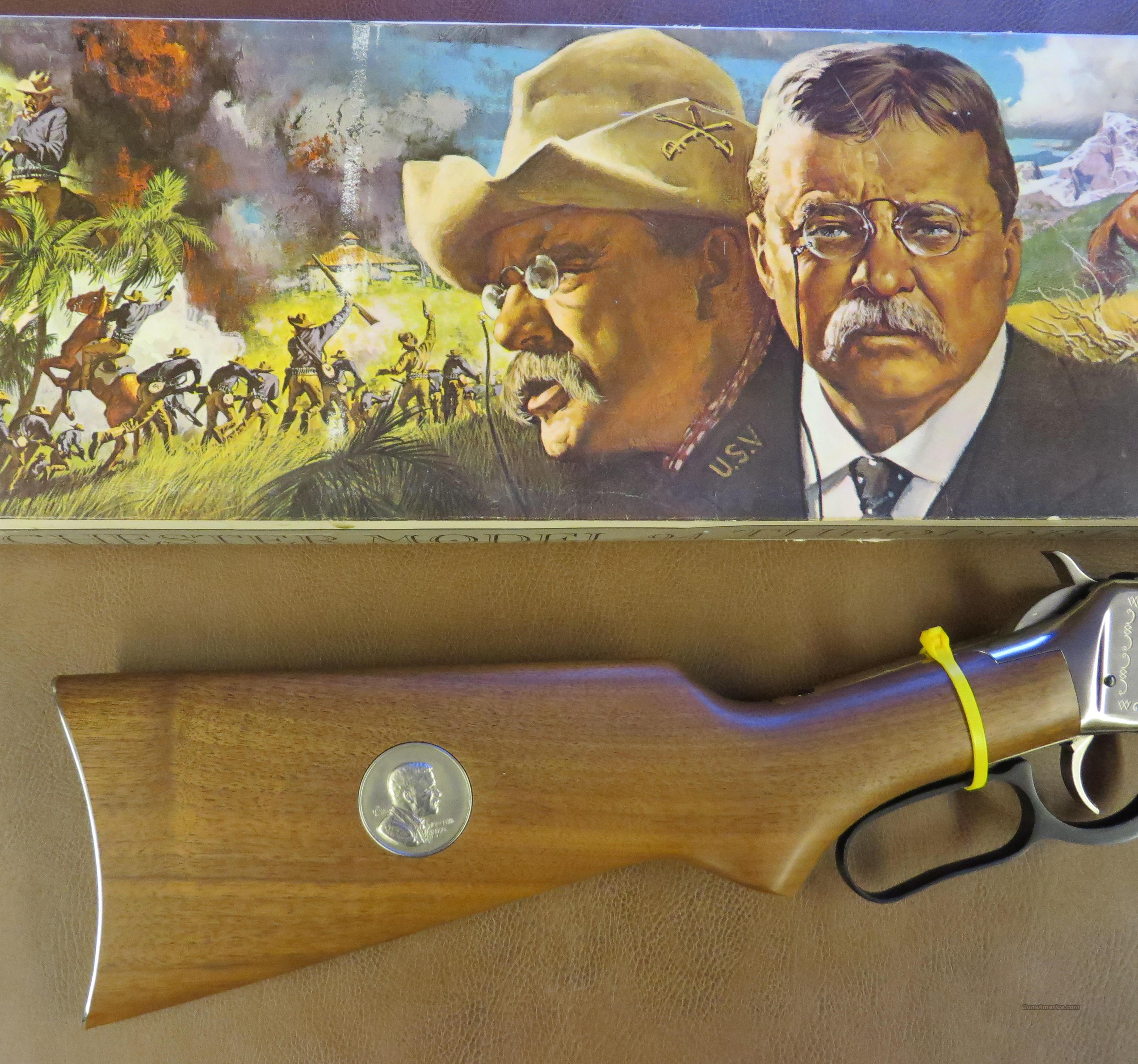 Winchester Model 94 Theodore Roosevelt Commemorative  Guns > Rifles > Winchester Rifle Commemoratives