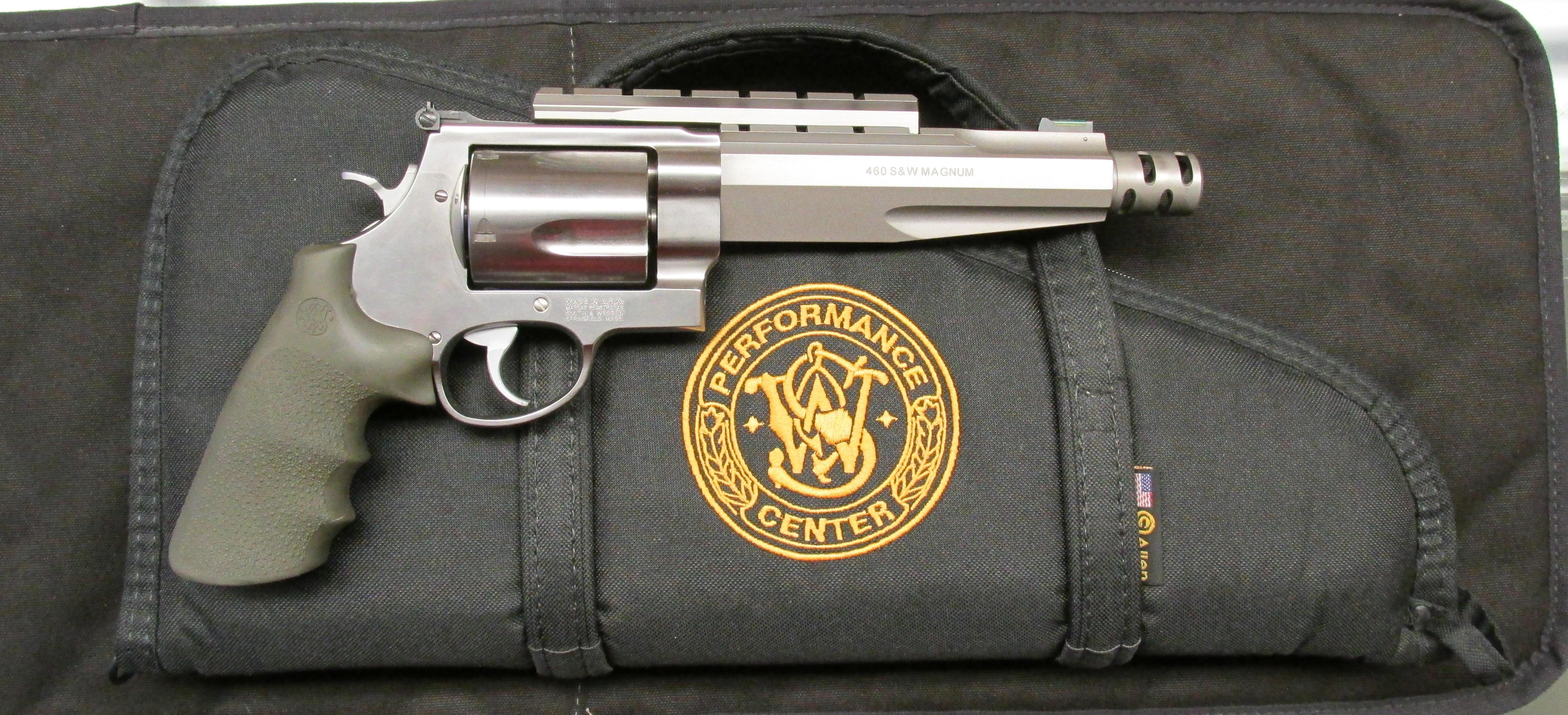 S&W Model 460 Performance Center  Guns > Pistols > Smith & Wesson Revolvers > Performance Center