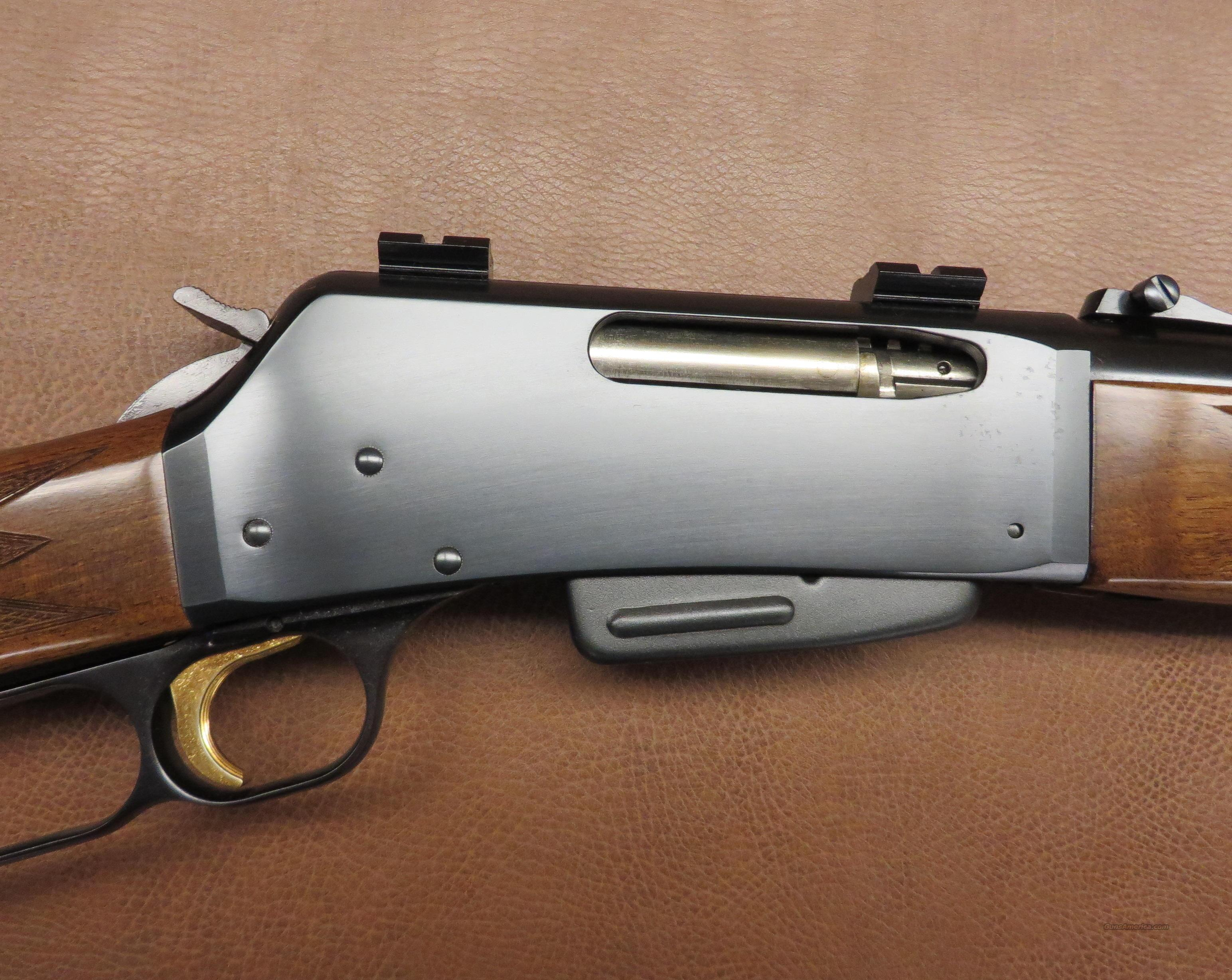 Browning Model BLR  Guns > Rifles > Browning Rifles > Lever Action