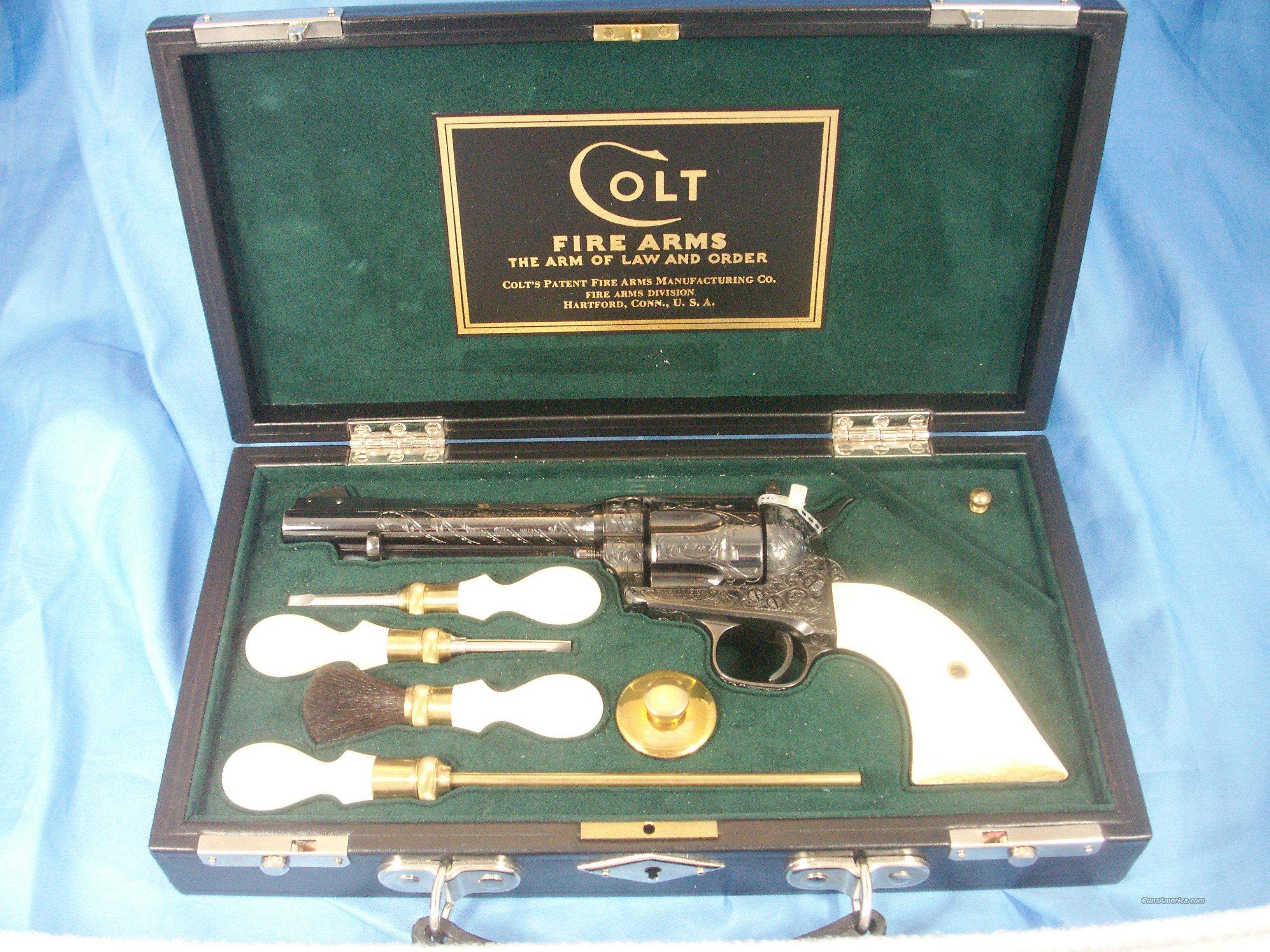 1st Generation Colt SAA (Tommy Haas No. One) .22 LR  Guns > Pistols > Colt Single Action Revolvers - 1st Gen.