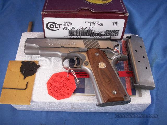 Colt Gold Cup Commander (Custom Shop)  Guns > Pistols > Colt Automatic Pistols (1911 & Var)
