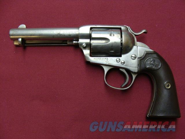 1902 BISLEY FRONTIER SIX SHOOTER  Guns > Pistols > Colt Single Action Revolvers - 1st Gen.