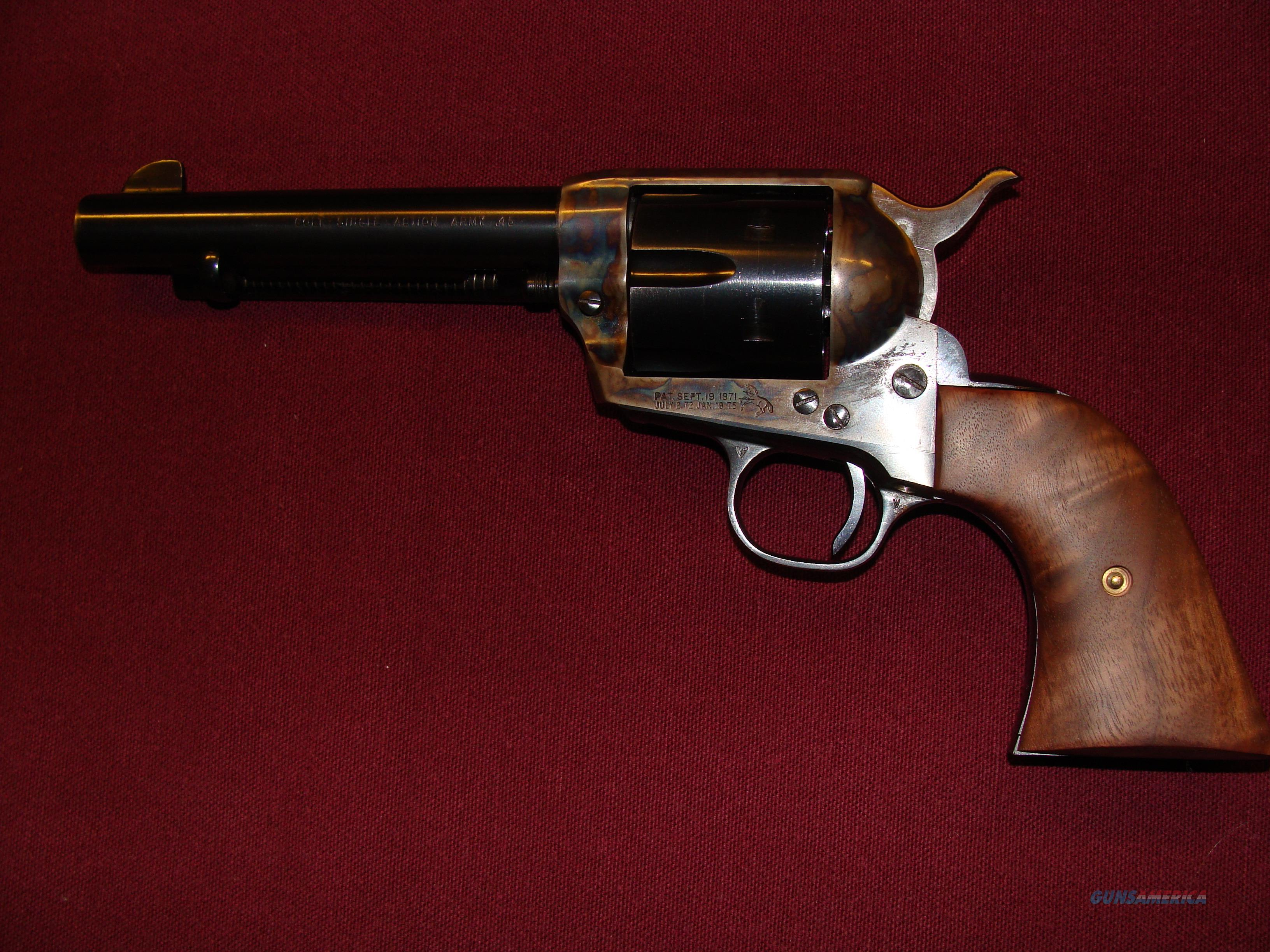 Colt 2nd Generation 45  Guns > Pistols > Colt Single Action Revolvers - 2nd Gen.